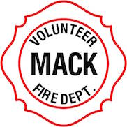 Mack Volunteer Fire Department Insignia - 19